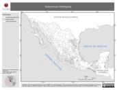 Mapa ilustrativo de Subcuencas hidrológicas
