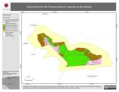 Mapa ilustrativo de Subzonificación del Parque Nacional Lagunas de Montebello