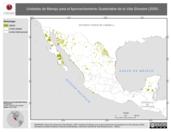 Mapa ilustrativo de Unidades de Manejo para el Aprovechamiento Sustentable de la Vida Silvestre (2005)