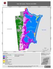 Mapa ilustrativo de Uso del suelo, Febrero de 2004.