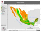 Mapa ilustrativo de Vegetación Potencial