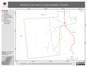 Mapa ilustrativo de Zapotales del ejido Xkanha, municipio Hopelchén, Campeche