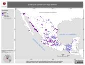 Mapa ilustrativo de Zonas que cuentan con riego artificial