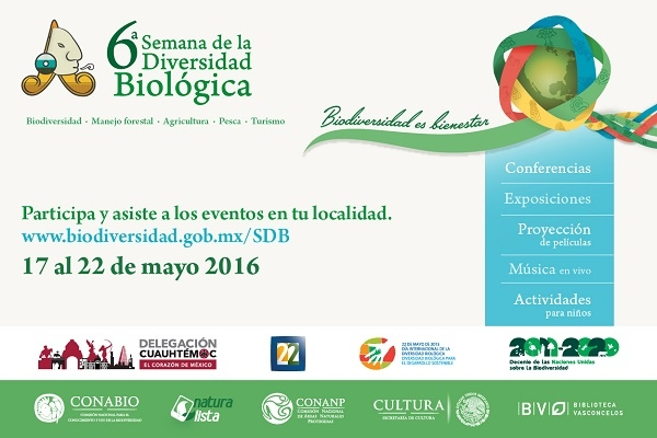 6ª SEMANA DE LA DIVERSIDAD BIOLÓGICA